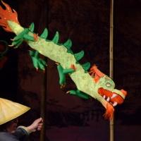 Фотоотчёт: мои воспитанники на премьере спектакля «Дракон и Золотая Черепаха» в кукольном театре