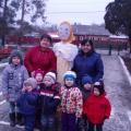 Фотоотчёт мероприятии «Масленицы» детей совместно с родителями в 1 младшей группе.