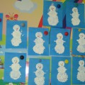 Конспект комплексного занятия НОД по развитию речи и рисованию для детей трех лет на тему: «Снеговик»