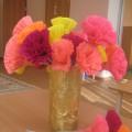 Фотоотчёт «Подготовка к празднованию маминого дня-8 марта»