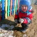 Прогулка: «Изучаем лед весной».
