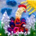 Мастер-класс «Пасхальная праздничная коллективная картина» (средняя группа)