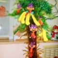 Обезьянка в Новый год всем нам радость принесет!Мастер-класс изготовления поделки из пробки и цветной бумаги