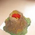 Мастер-класс изготовление макета вулкана.