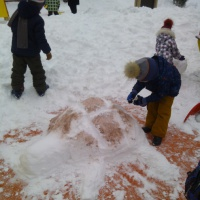 Фотоотчёт о «Зимних забавах»