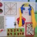 Дизайнерское сенсорное пособие «Чудо-доска»