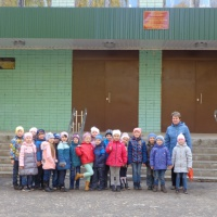 Фотоотчет «Экскурсия в школу»