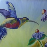 Мастер-класс по рисованию «Колибри»