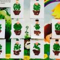 Конспект НОД по аппликации «Цветущий кактус». Вторая младшая группа