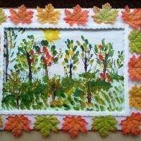 Конспект занятия по рисованию «Осенний пейзаж ...