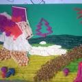 Мастер-класс для педагогов «Плоскостная лепка из пластилина с использованием техники рисования и бросового материала»