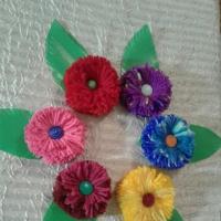 Мастер-класс по изготовлению поделки-магнита «Цветочек для любимой мамочки»