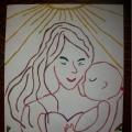 Мастер-класс по пластилинографии «Мама, милая моя»