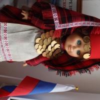 Куклы в народных костюмах. Удмуртский национальный костюм
