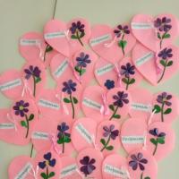 Мастер-класс по изготовлению открытки к 8 марта «Сердечко для мамы»