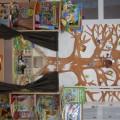 Оформление читального уголка «Книжкин дом» в первой младшей группе