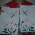 «Волшебные цветы». Мастер-класс по изготовлению открытки к Восьмому марта