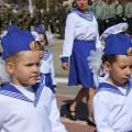 Парад дошколят в честь 71-й годовщины великой Победы