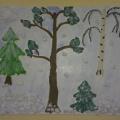 Мастер-класс в технике «пластилинография» с детьми 6–7 лет «Зима в лесу»