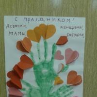 Фотоотчёт «Подарки для мамы и бабушки»