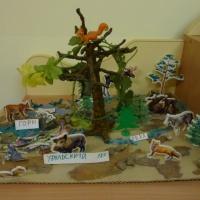 Занятие по изготовлению макета «Уральский лес» для детей старшего дошкольного возраста