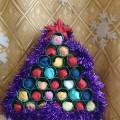 Мастер-класс «Рождественская ёлочка»