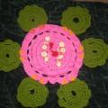 Дидактические игры своими руками для детей раннего возраста. Вязаное дидактическое пособие «Цветок»