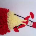 Мастер-класс к празднику Наурыз «Девушка в национальном платье»