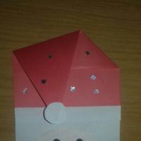 Мастер-класс «Поделка из бумаги «Дед Мороз»