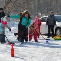 Фотоотчет о совместном досуге с родителями и детьми «Встречаем весну»