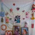 Фотоотчет. Развивающая среда в группе. Выставка работ «Моя мама рукодельница»