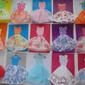 «Нарядное платье для мамочки» Аппликация