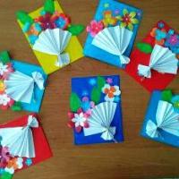 Кружковая работа «Бумажные фантазии»