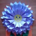 Мастер-класс: объемная открытка «Удивительный цветочек»