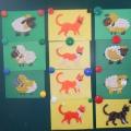 Фотоотчёт о детском творчестве по теме «Животный мир»