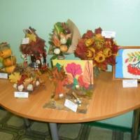 Фотоотчёт о выставке «Осенний калейдоскоп»