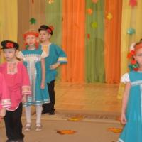 Фотоотчёт об осеннем празднике «Осень златокудрая» в подготовительной к школе группе