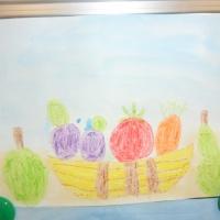 Фотоотчёт о выставке детских работ «Что мы делали покажем!»