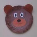 Мастер-класс по изготовлению поделки из одноразовой тарелки «Медвежонок»
