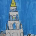 Рисунок «Колокольня Шуйского собора»