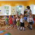 Конспект интегрированного занятия «В гости к сказке Гуси-лебеди»