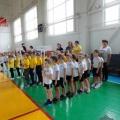 Участие дошкольников в спортивных соревнованиях «Весёлые старты» (фотоотчёт).