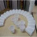 Мастер-класс «Снеговик» Объемная игрушка из бросового материала (одноразовые стаканчики)