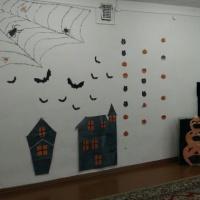 Оформление музыкального зала к Хэллоуину