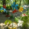 Украшение для участка детского сада «Цветочная клумба»