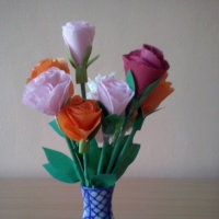 Мастер-класс «Розочка для любимой мамочки»