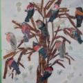 Мастер-класс «Полюбуйтесь, посмотрите— это птицы снегири!»