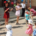 Фотоотчет— праздник День защиты детей в ясельной и младшей группе