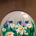 Мастер-класс «Роспись керамической тарелки «Полевые цветы»