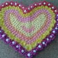 Мастер-класс «Сердце для мамы» из цветов